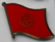 Kyrgyzstan Country Flag Enamel Pin Badge